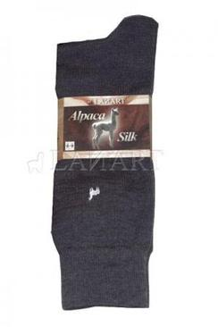Photo of Lanart Men's Dress Baby Alpaca/Silk Sock