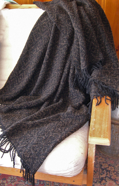 Photo of RM Rose Jacquard Handwoven Throw