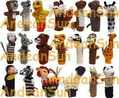 Photo of Finger Puppets - 330-Animals