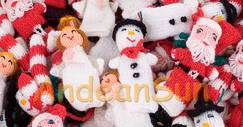 Photo of Christmas Finger Puppets