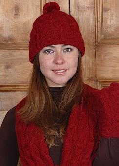Photo of Classic Alpaca Angelina Cable Hat