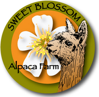 Sweet Blossom Alpaca Farm - Logo