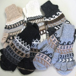 Photo of Glittens (Fingerless Gloves with Mitten)