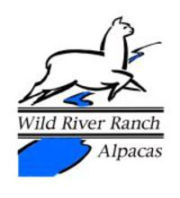 Wild River Ranch Alpacas - Logo