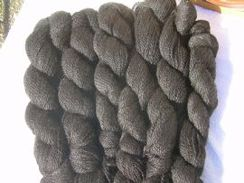 Photo of Black yarn - sport weight