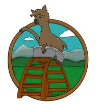 Roller Coaster Alpacas - Logo