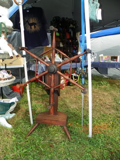 Photo of very old yarn winder