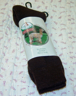 Photo of Men's Alpaca Outdoor Socks-Includes Shpg