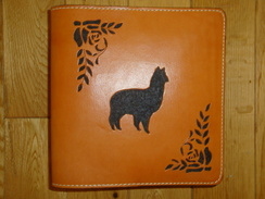 Photo of Leather Art - Alpaca Photo Album