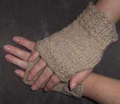 Photo of Handknit 100% Alpaca Hand-warmers