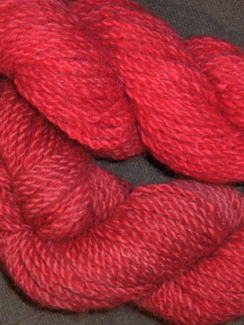 Photo of Alpacas from MaRS Red Hand-dyed yarn