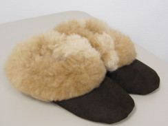 Photo of SheepSkin Slippers w/ Alpaca Fur