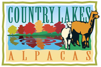 Country Lakes Alpacas - Logo
