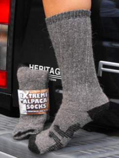 Photo of Extreme Alpaca Crew Socks
