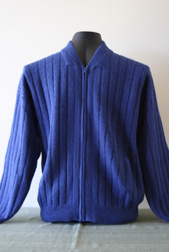 Photo of Men's zip cardigan