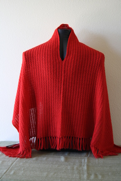 Photo of Red poncho