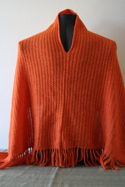 Photo of Orange poncho