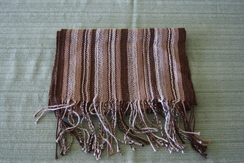 Photo of Brown striped scarf