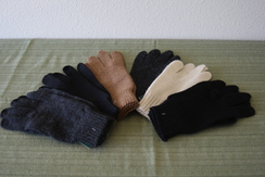 Photo of Unisex jersey knit gloves