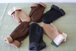 Photo of Reversible mittens