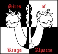 Sires of Kings Alpacas - Logo