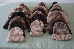 Photo of Hand knitted caps