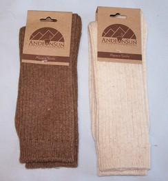 Photo of Alpaca Copper Socks