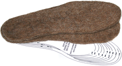 Photo of Felt Insoles Boot Liners