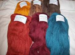 Photo of Custom Dyed Huacaya Yarn