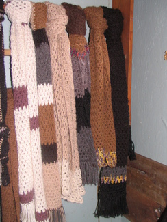 Photo of Crochet Alpacas Scraves