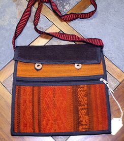 Photo of Rust Andean Shoulder Bag