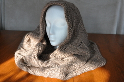 Photo of Alpaca Bulky Lace Snood