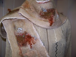 Photo of Nuno Felted Scarves