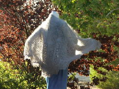 Photo of Angora Vernal Equinox shawl
