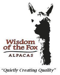 Wisdom of the Fox Alpacas - Logo