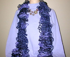 Photo of Acrylic Ribbon Scarf