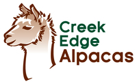 Creek Edge Alpacas - Logo