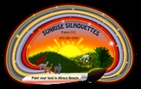 Sunrise Silhouettes - Logo
