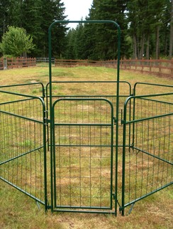 Photo of 4' x 2.5' Mesh Gate