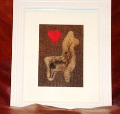 Photo of Alpaca Fiber Art - I Love Alpaca