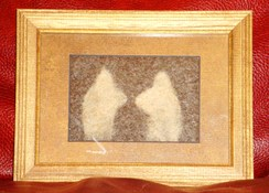 Photo of Alpaca Fiber Art - 2 Heads Better...