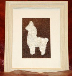 Photo of Alpaca Fiber Art  - Suri Alpaca