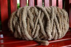 Photo of Alpaca Rug Yarn - Fawn Mix 95 yd.