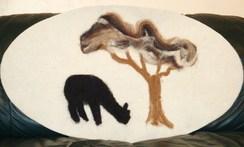 Photo of Alpaca Fiber Art - Alpaca Series