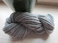 Photo of Light Silver Grey Chunky Alpaca Yarn