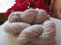 Photo of Bi-Color Pure Alpaca Yarn - Soft
