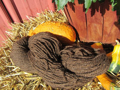 Photo of Dark Rose Grey Pure All Alpaca Yarn