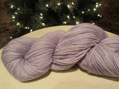 Photo of Beautiful Lavender Alpaca Yarn
