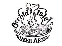 Orchid Isle Fiber Arts - Logo