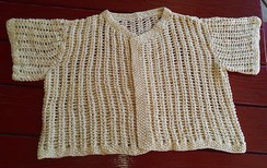 Photo of Lacy Summer Sweater